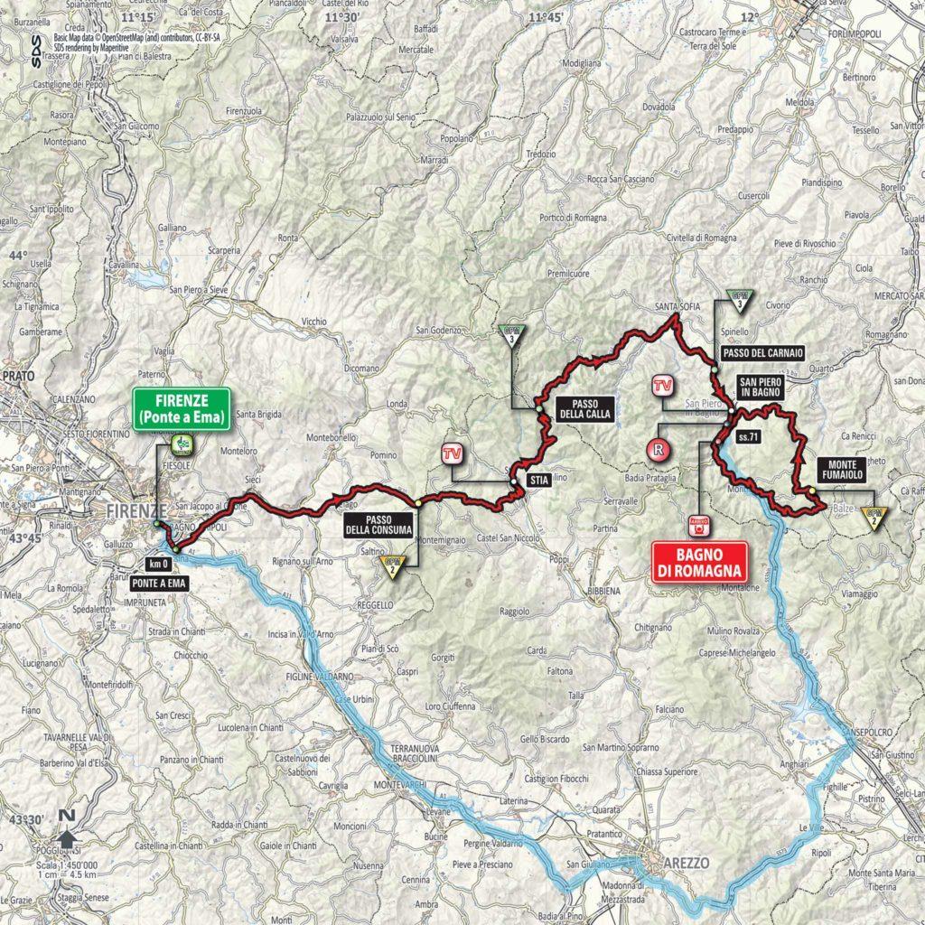 Giro d'Italia 2017 Etappe 11