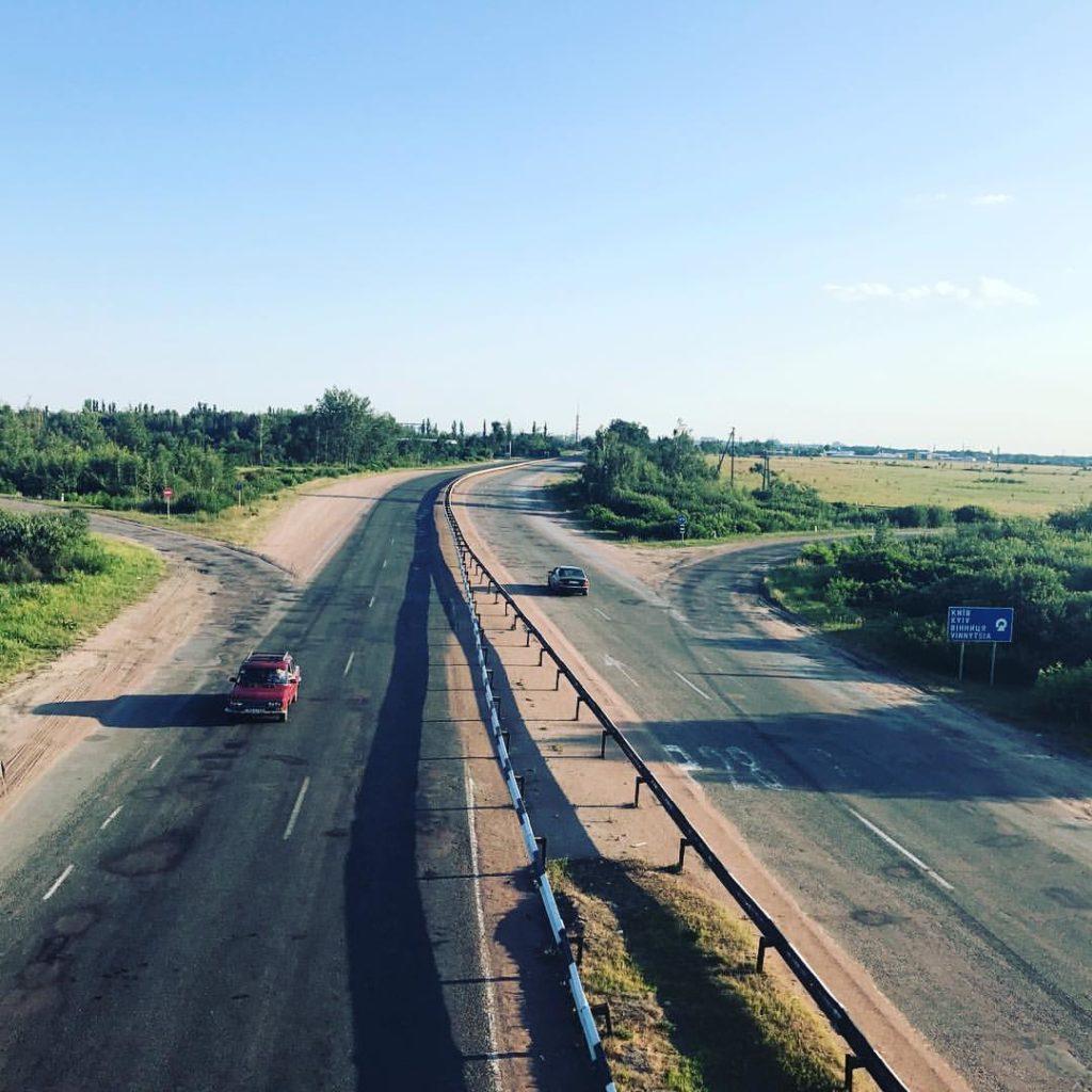 Autobahn nach Kiev