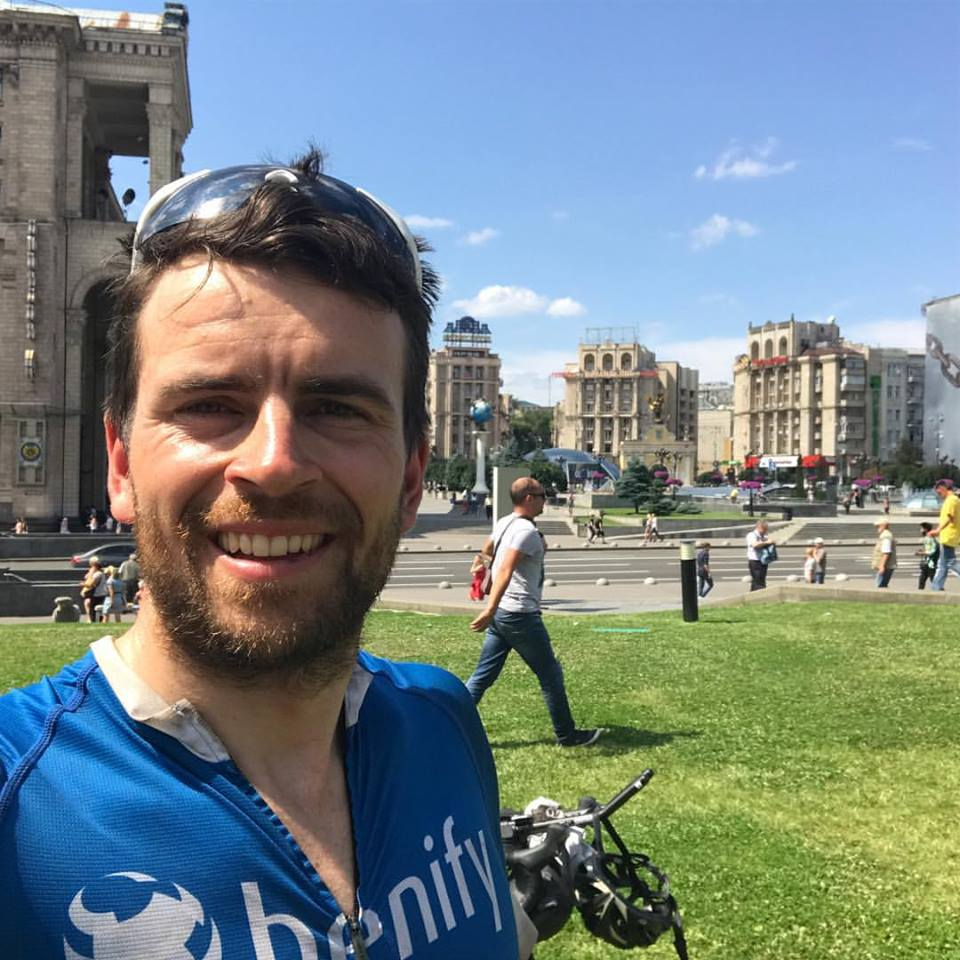 Jonas in Kiew