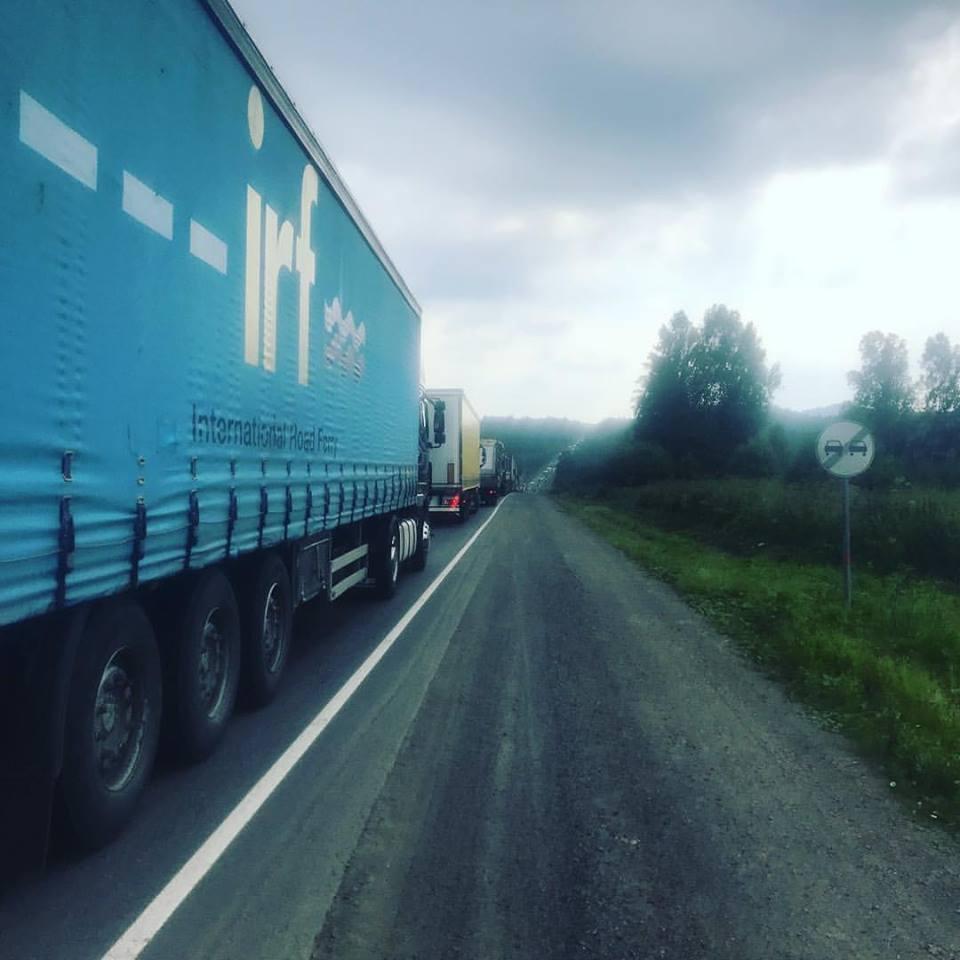 Stau in Russland
