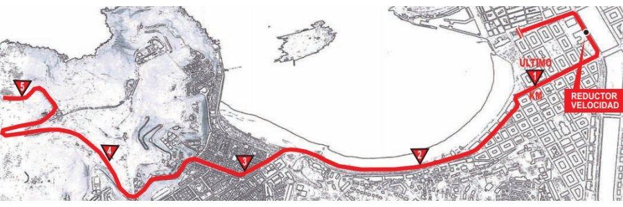 Letzte 5 Kilometer Clásica de San Sebastián