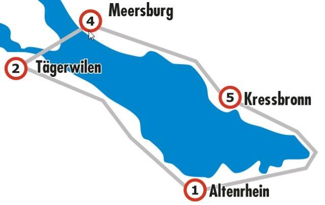 Silberstrecke Bodensee Radmarathon