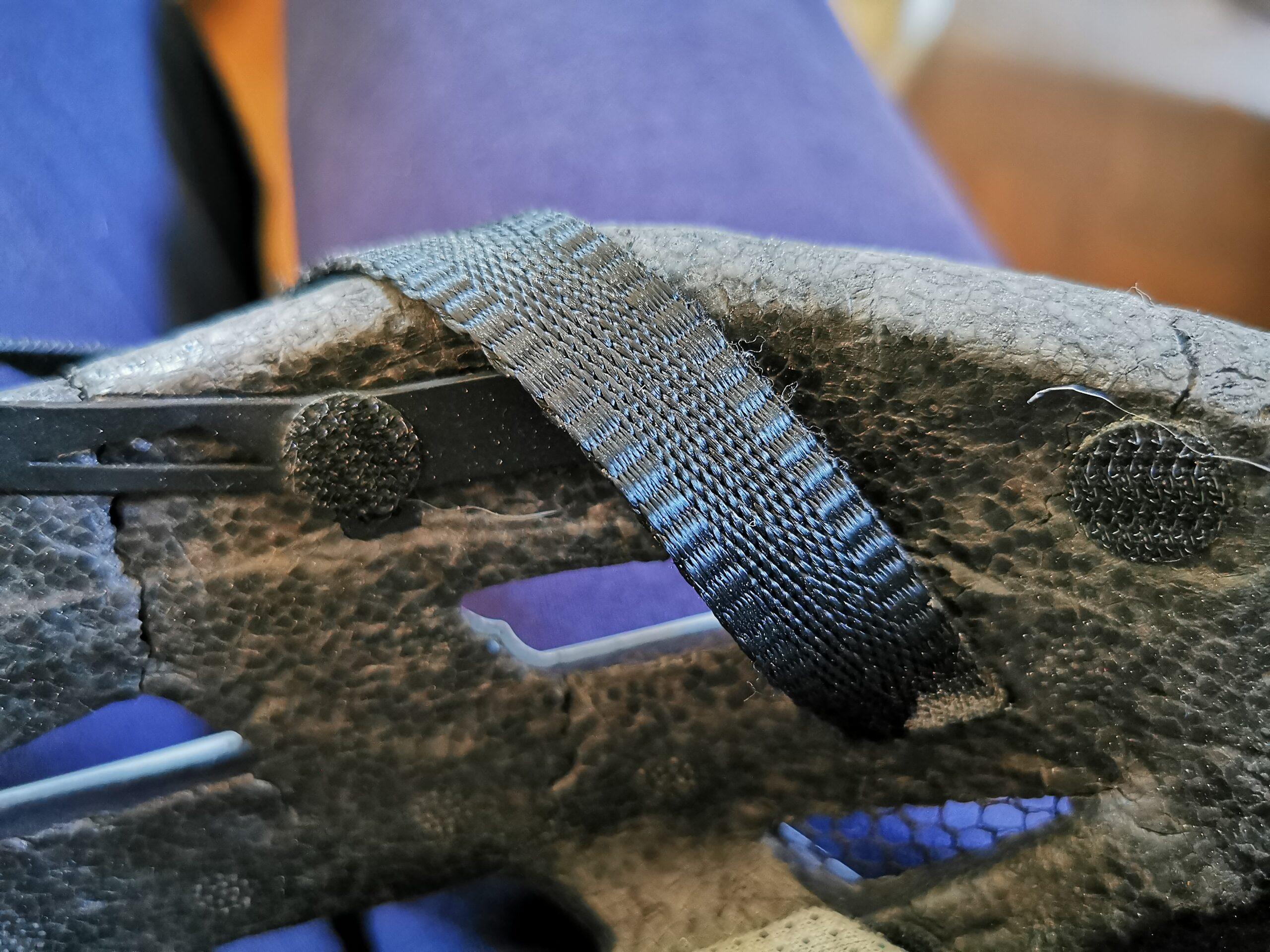 Rechte Seite von meinem Helm