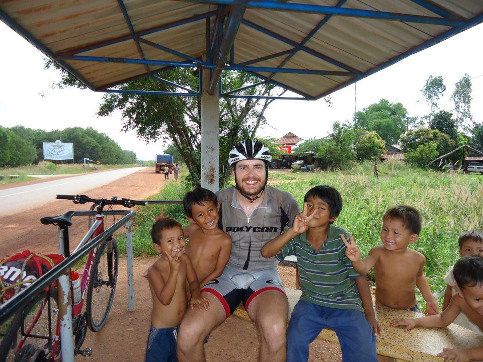 Jonas in Kambodscha